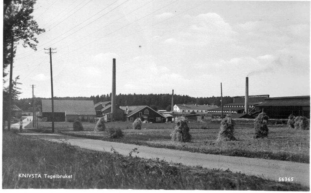 Tegelbruk och sågverk