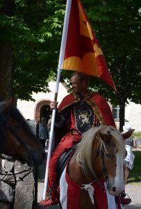 Knivsta kommun flagga